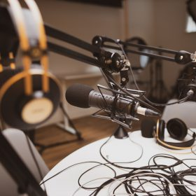 Podcast studio huren